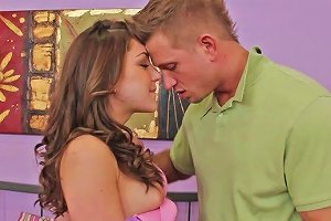 Modest Chick Remy Lacroix Wins A Cock For A Tender Sucking