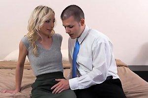 Blonde Teen Mormon Jizzed