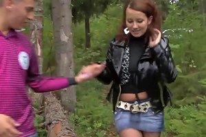 Young Libertines Forest Fuck On A Picnic Blanket Porn Videos