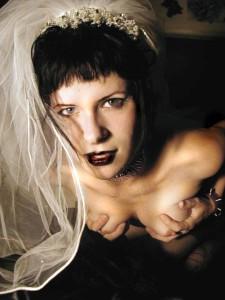 nasty goth slut